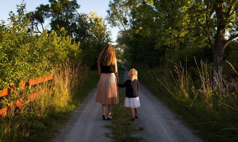 symetria między dziećmi i rodzicami